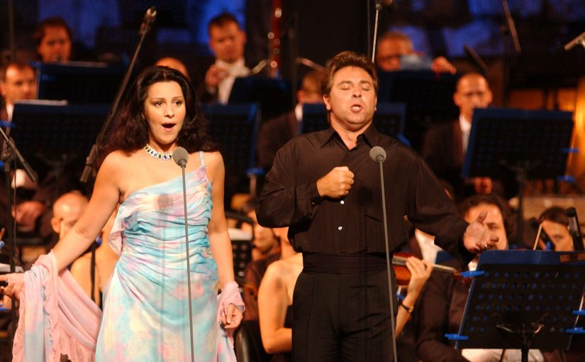 Angela Gheorghiu and Roberto Alagna